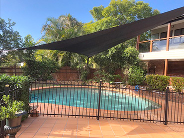 Shade and Sail Swimming Pool Service
